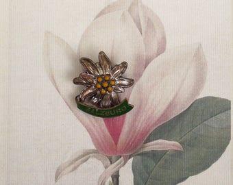 50s 60s vintage Oktoberfest hat pins brooches  vintage hat pin  vintage brooches Salzburg hat pin  Bavarian hat pin