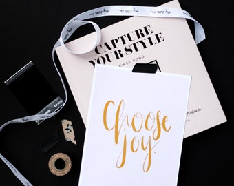 Choose Joy A5 Print | Sample Sale