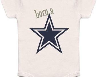 Dallas Cowboys Onesie, Born A Star