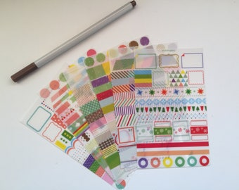 Set of Stickers for planner