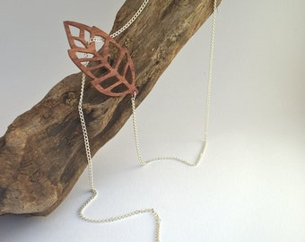 "Necklace ""Falling Leaves"""