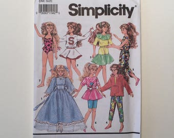 Barbie Pattern #7600.