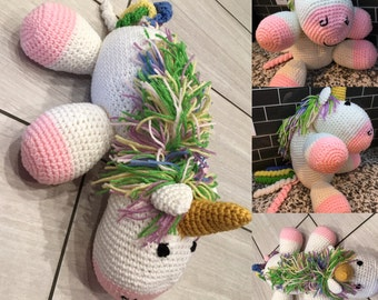 Ella The Unicorn (Crochet Critter)
