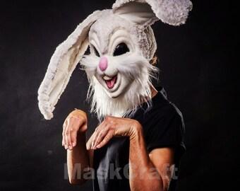 Rabbit helmet-mask by Maskcraft