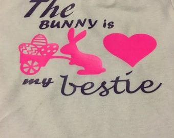 The bunny is my bestie bodysuit