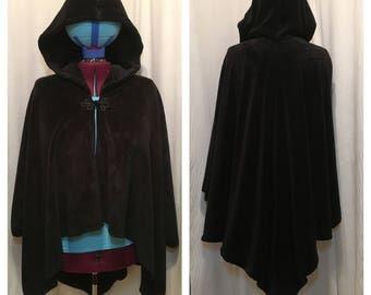 Fuzzygoth fleece cloak