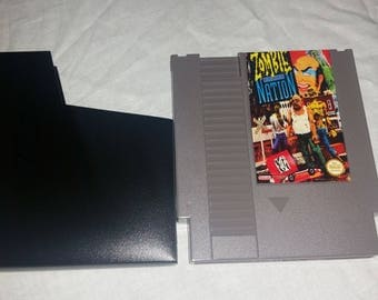 Nintendo NES Zombie Nation Reproduction w/ free dust sleeve