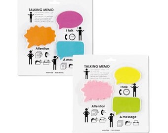 Speech Bubble Sticky Notes, Planner Sticky Notes, Sticky Memo, Post It Notes, To Do List, Reminder