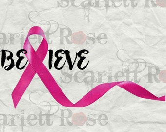 Breast Cancer Awareness SVG Bundle cutting file clipart in svg, jpeg, eps and dxf format for Cricut & Silhouette - Instant Download