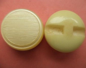 6 yellow buttons 21mm (2327) button