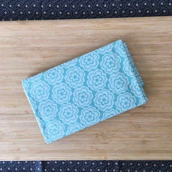 Furoshiki Gift Wrapping Cloth - Japanese Cotton Furoshiki - Floating Sakura Design by Kendo Girl