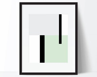 Abstract Art, Modern Print, Geometric Print, Minimalist Print, Modern Art, Abstract Print, Geometric Art, Digital Download, Digital Print