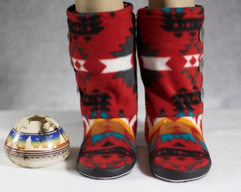 YOUTH: Native American Design (Red) size 1-2