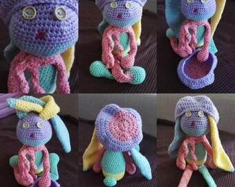 Doudou crocheted Bunny