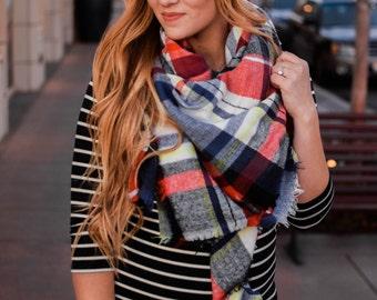 Blanket scarfs