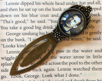 John Steinbeck Bookmark - Of Mice and Men Bookmark, The Grapes of Wrath Gift, East of Eden Gift, Cannery Row Gift, John Steinbeck Gift
