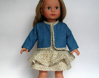 Dress and jacket for Gotz doll