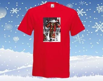 Santa Ding Dong  Christmas  t-shirt funny adult gift present