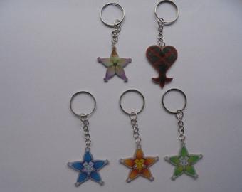 Kingdom Hearts Keychains - Wayfinder aqua - terra wayfinder - wayfinder ventus - heartless - Kairi lucky charm