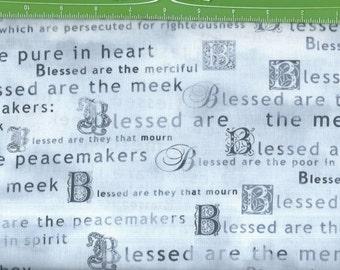Heaven Sent,Awesome blue/white, Blessed words,Kansas Studio