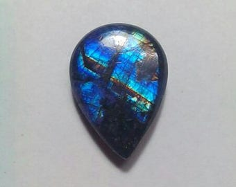 Blue Rainbow Moonstone Cabochon