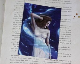 Zodiac sign post card - Aquarius