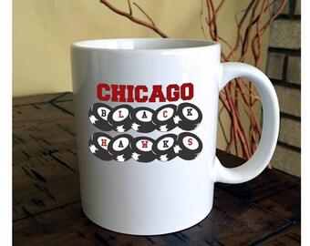 Chicago Blackhawks Puck Coffee Mug