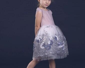 Wedding gown, couture dress, birthday dress, flowergirl dress