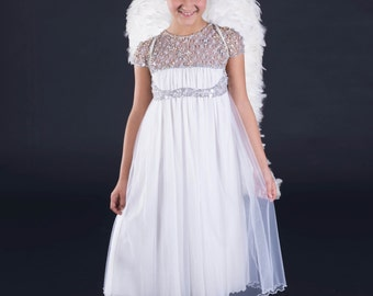 HAUTE COUTURE DRESS, wedding girl tull dress, beaded dress, dress, dress with swarovski, birthday girl dress