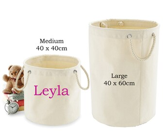 Personalised Toy Storage Bag