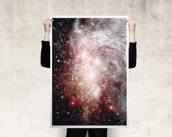 Cosmic Nebula Print Poster