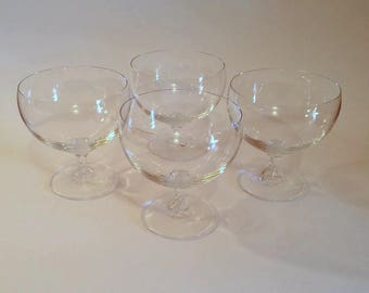 Wide Rim Sherbet Glasses  Crystal Sherbet Glasses
