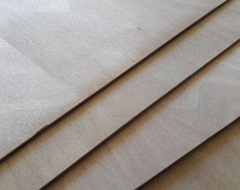 Plywood Okoumé 3 mm wooden board