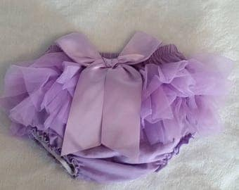 FREE SHIPPING !!!  Purple Ruffle Butt Baby Pants, Reborn Pants, Baby Pants, Baby Gift,