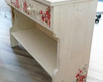 Antique bench, wooden bench, bench Shabby Chic