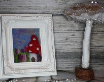 Miniature Fairy Toadstool House Frame - Minis Range