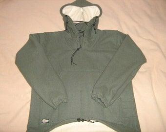 Hand Made 100% Wool Blanket Bushcraft Shirt ( Double Wool Layer)