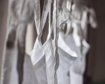 white linen curtain linen valance linen kitchen curtain. Black Bedroom Furniture Sets. Home Design Ideas