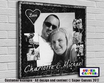 In Love bespoke Canvas Print with pictures