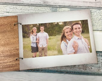 Photo Guest Book | Picture Guest Book | Photo Guestbook | Wedding Guestbook Alternative | Tree Guest Book | Personalized & Engraved For You!