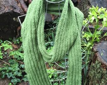Ridgeline Ribbed Scarf Knitting Pattern