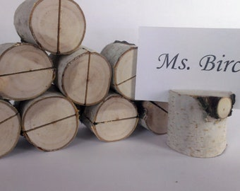 rustic wedding table number holder place card holder name card holder name tag