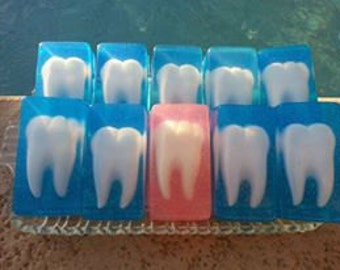 Tooth Soap - Dental Soap - Custom Soap - Specialty Soap - Personalized Soap - Dental Assistant Soap - Hygiene Soap - Dentist Soaps
