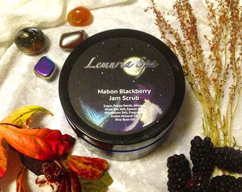 Mabon Blackberry Jam Face and Body Scrub