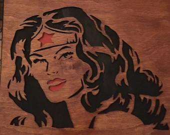 Wonder Woman plaque
