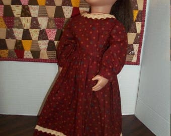 2 pc Historical 18 inch doll outfit