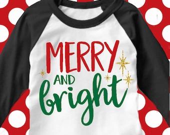 Merry and bright svg, jesus svg, christmas SVG, DXF, EPS, Christmas quote svg, merry christmas svg,  cut file, christmas svg, christ svg