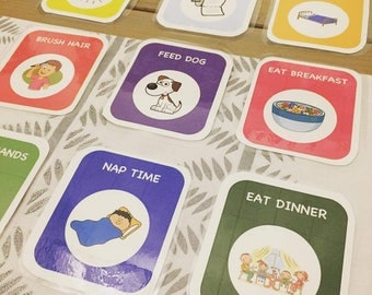Original Kid's Routine Cards - Set of 20