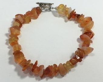 Red Agate Bracelet #111116.24