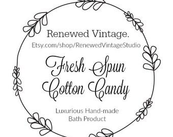 Fresh Spun Cotton Candy Bath Bomb